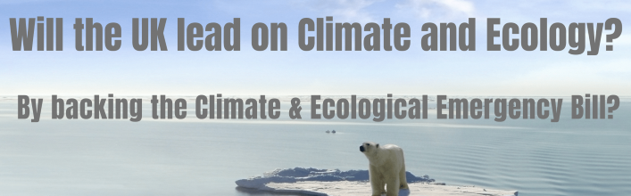 Support the Climate and Ecological Emergency Bill